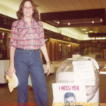 Leslie at MDA Dance Marathon, 1979