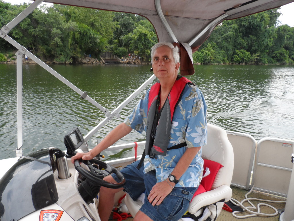 Ted Abbott on the James River