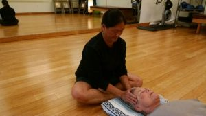 Valerie uses Reiki therapy, one of five modalities used in Urban Zen Integrative Heealing