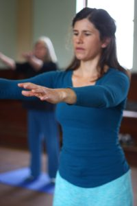 Nicole teaches medical qigong in Alameda.