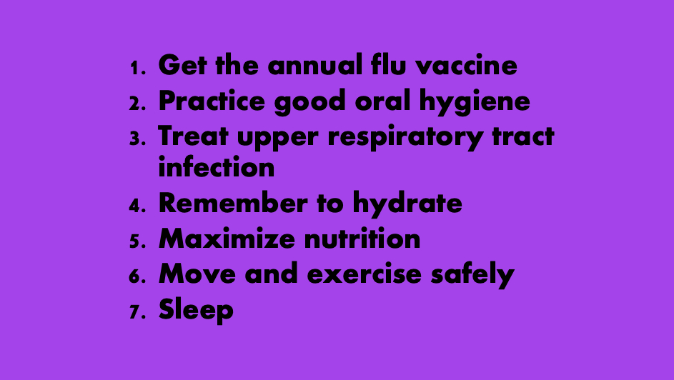 Seven Tips for Respiratory Health