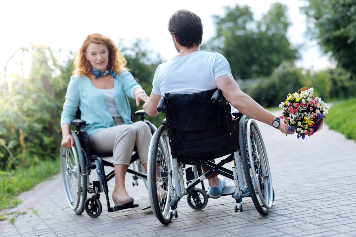 Man and Woman both in wheelchairs